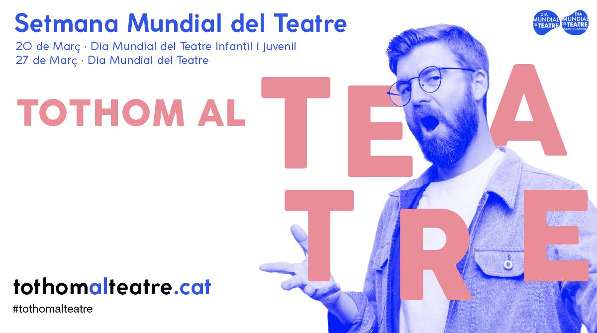 Celebramos la Semana Mundial del Teatro